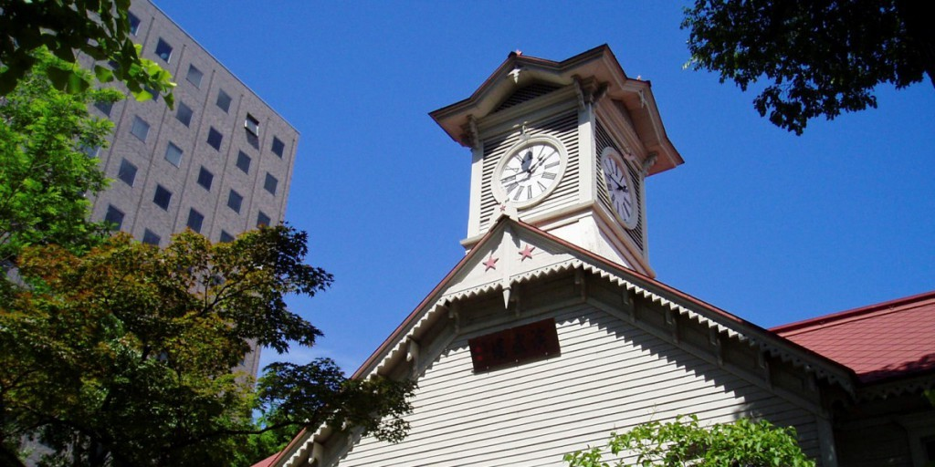 Take a walk and visit three major attractions in Sapporo